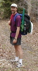 "Onestep Ultralight Backpacking on the Appalachian Trail with a ""10 pound pack""."